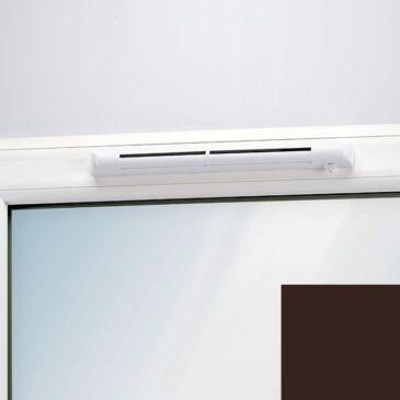 Aereco EHM 1275G önszabályozó, nyílászáróba építhető légbevezető gesztenye