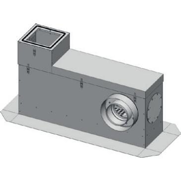Aereco AMTA-R-0 Hangcsillapító talpazat lapos tetőre