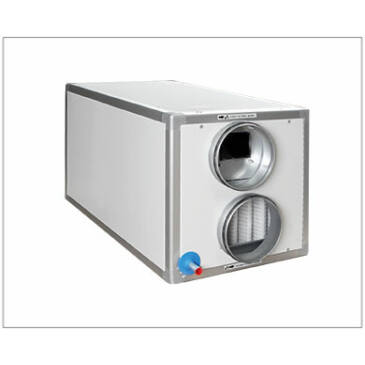 Aereco MURAL PX 450 FW VEX Hővisszanyerős szellőztető, Kültérre