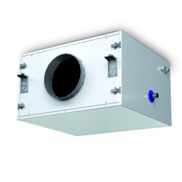 Aereco MURAL PX 600 BA4r- Hideg vizes külső utánhűtő egység