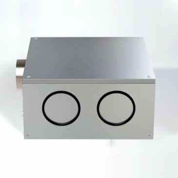 Aereco VAM 767 Hangcsillapított, fordulatszám szabályozott központi ventilátor max. 7 helyiséghez