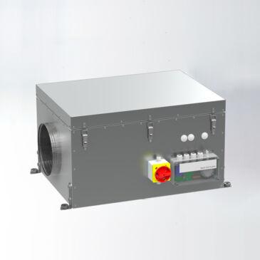 Aereco VCZ 1208 Fordulatszám szabályozott központi ventilátor, Kültéri kivitel
