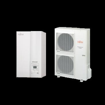 Fujitsu Waterstage High Power V2  HP11 / 3F WSYK160DG9 / WOYK112LCTA osztott hőszivattyú