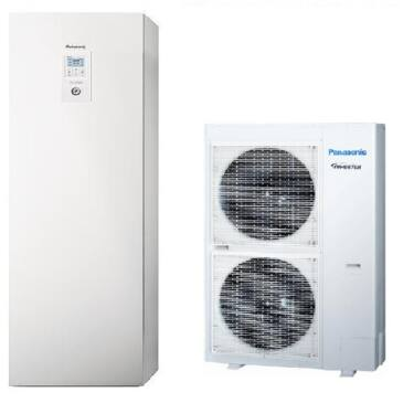 Panasonic Aquarea All in one WH-UD12HE5  / WH-ADC1216H6E5 osztott hőszivattyú