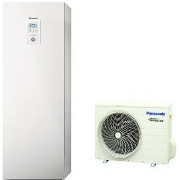 Panasonic Aquarea All in one WH-UD03JE5 / WH-ADC0309J3E5 osztott hőszivattyú