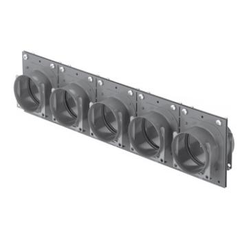 5-szörös ComfoTube 90-es csatlakozást lehetővé tévő összekötő elem