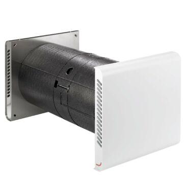 Zehnder ComfoSpot 50 Komfort szellőztetőgép, Rozsdamentes acél külső ráccsal