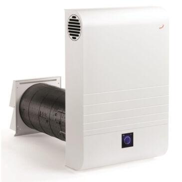 Zehnder ComfoAir 70 Komfort szellőztetőgép, Rozsdamentes acél külső ráccsal
